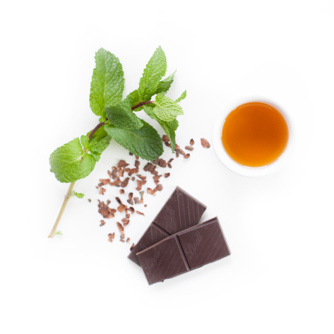 organic fresh mint and chocolate